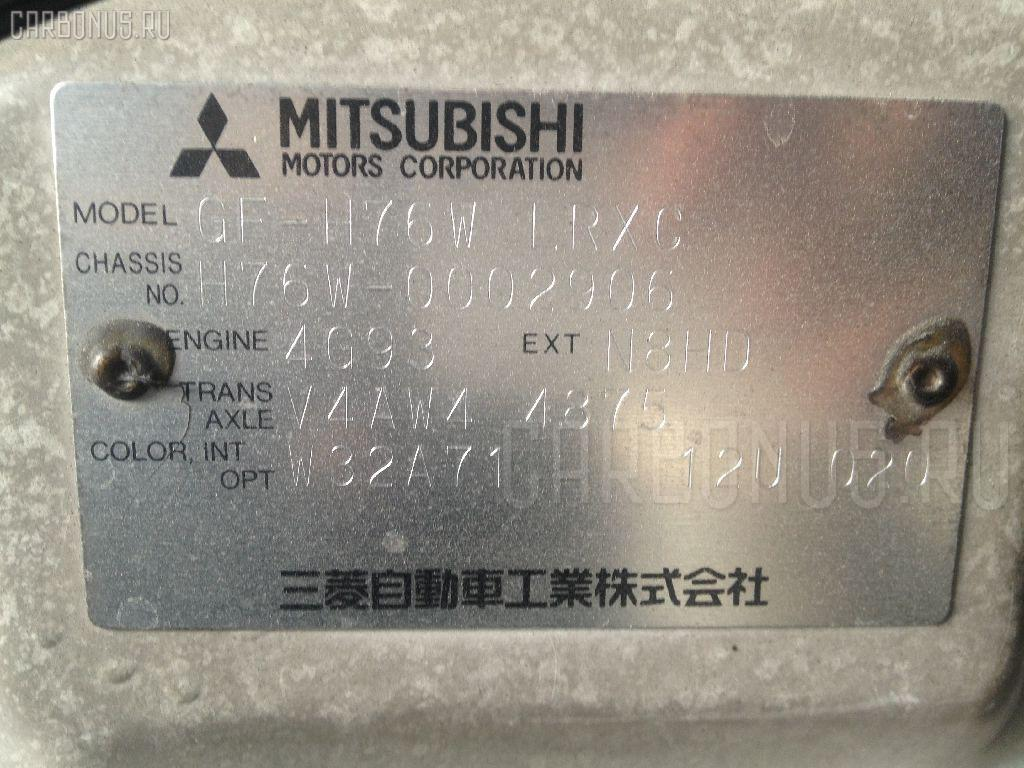 Air bag MITSUBISHI PAJERO IO H76W Фото 2