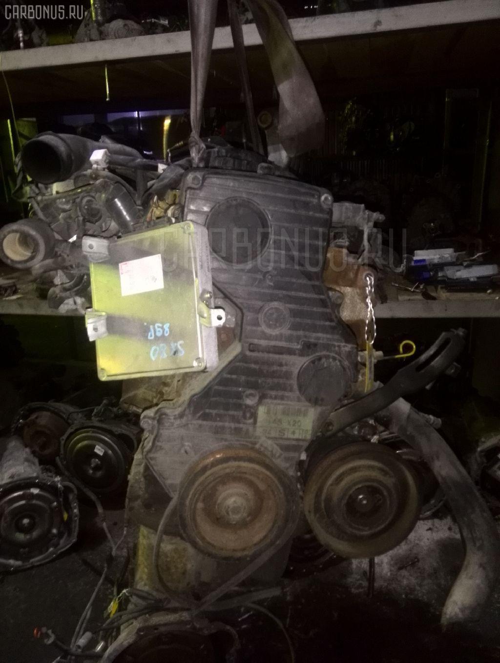 Двигатель TOYOTA MARK II SX80 4S-FI. Фото 2