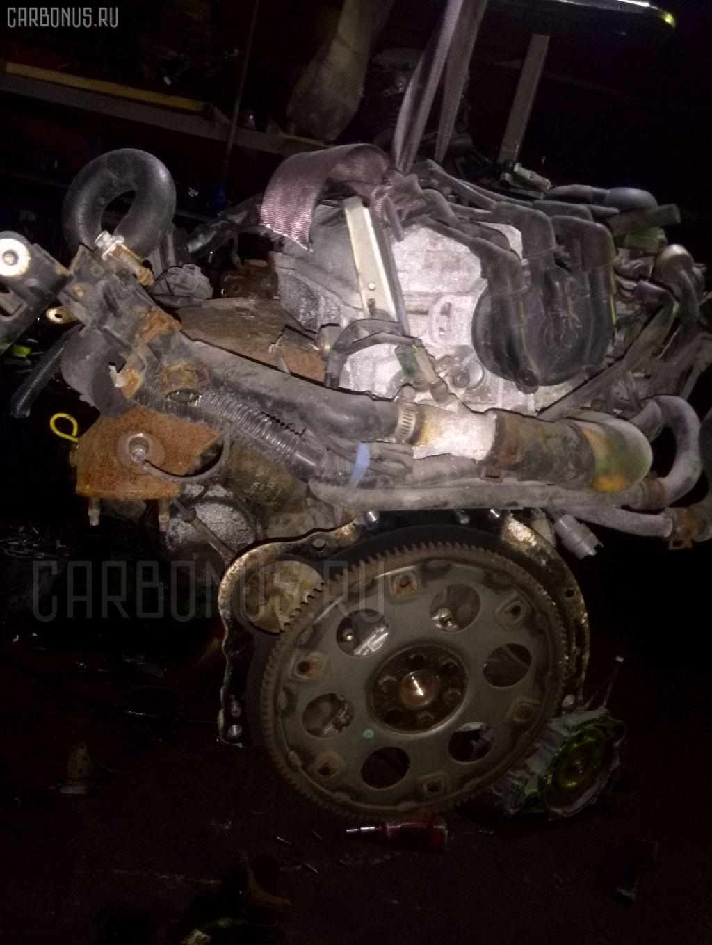 Двигатель TOYOTA MARK II SX80 4S-FI. Фото 4