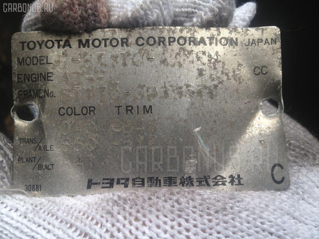 Стартер TOYOTA CORONA ST170 4S-FI Фото 4