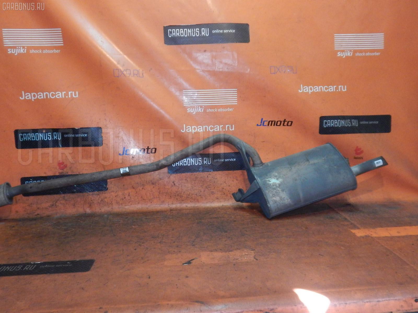 Глушитель TOYOTA CALDINA AT211G 7A-FE. Фото 6