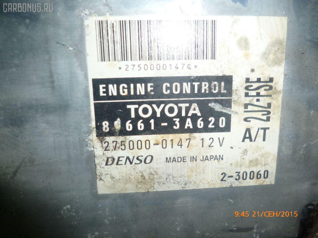 Двигатель TOYOTA CROWN JZS175 2JZ-FSE Фото 2
