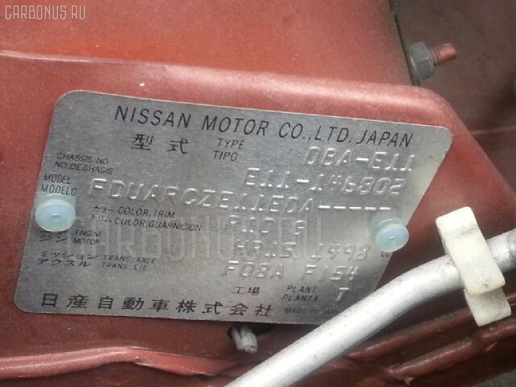 Планка задняя NISSAN NOTE E11 Фото 2