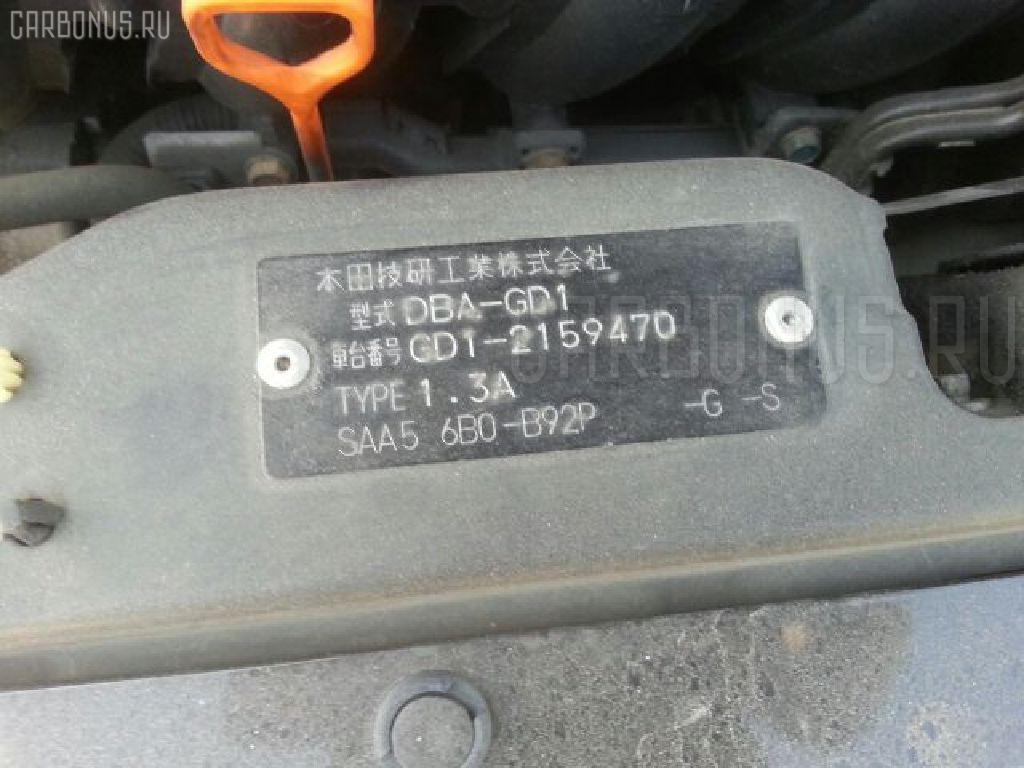 Двигатель HONDA FIT GD1 L13A Фото 13