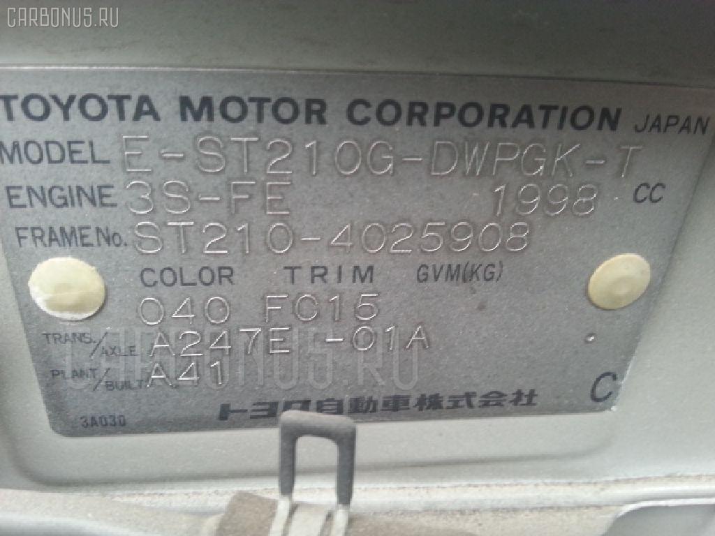 Багажник TOYOTA CALDINA ST210G Фото 4
