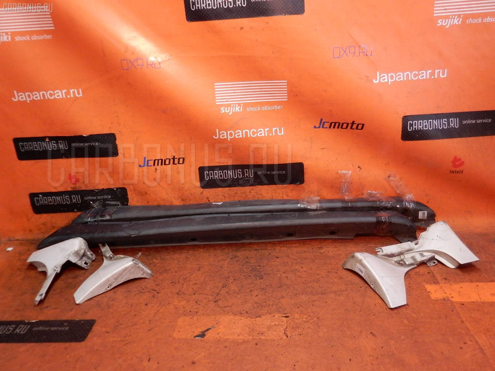 Порог кузова пластиковый ( обвес ) TOYOTA IST NCP60 Фото 1
