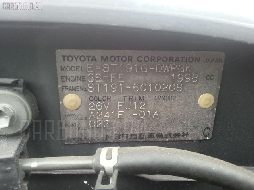 Обшивка багажника TOYOTA CALDINA ST191G Фото 2