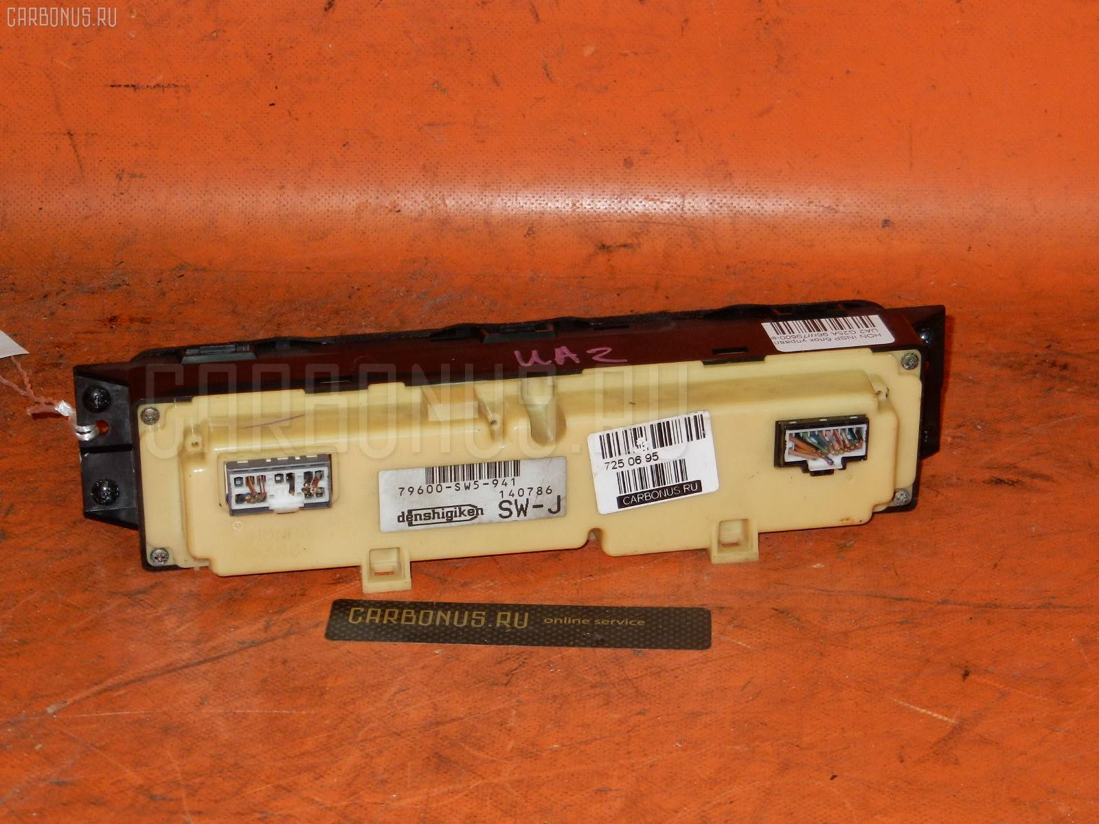 Блок управления климатконтроля HONDA INSPIRE UA2 G25A. Фото 3