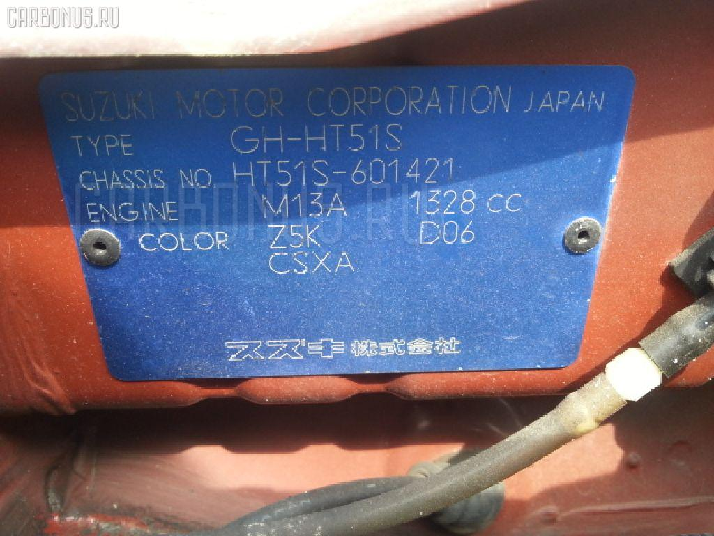 Корпус воздушного фильтра SUZUKI SWIFT HT51S M13A Фото 2