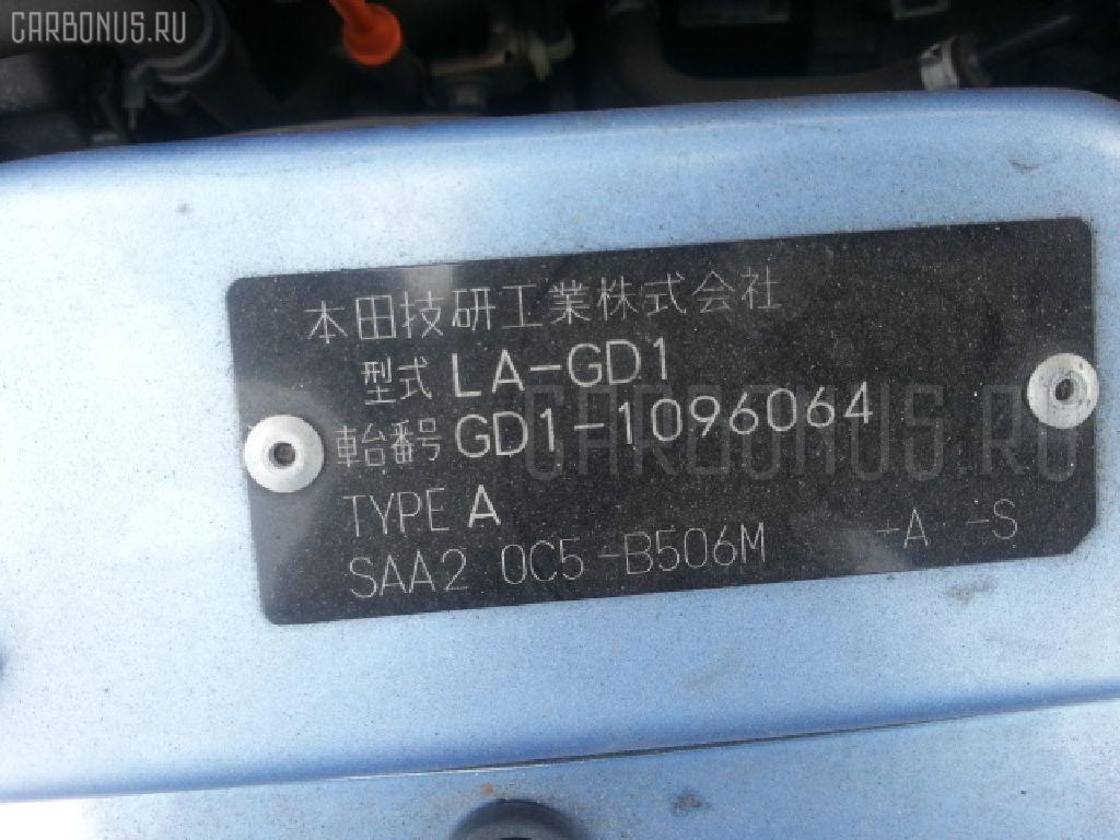 Блок управления климатконтроля HONDA FIT GD1 L13A Фото 3