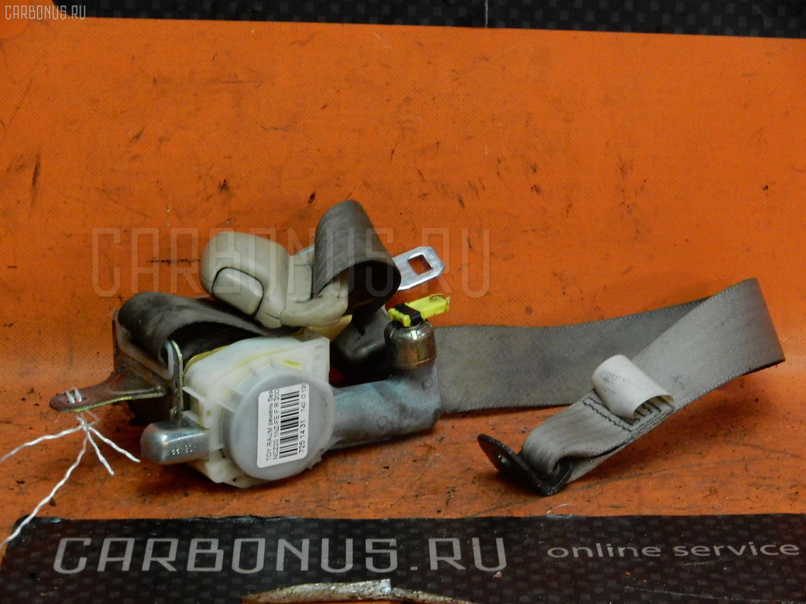 Ремень безопасности TOYOTA RAUM NCZ20 1NZ-FE Фото 1