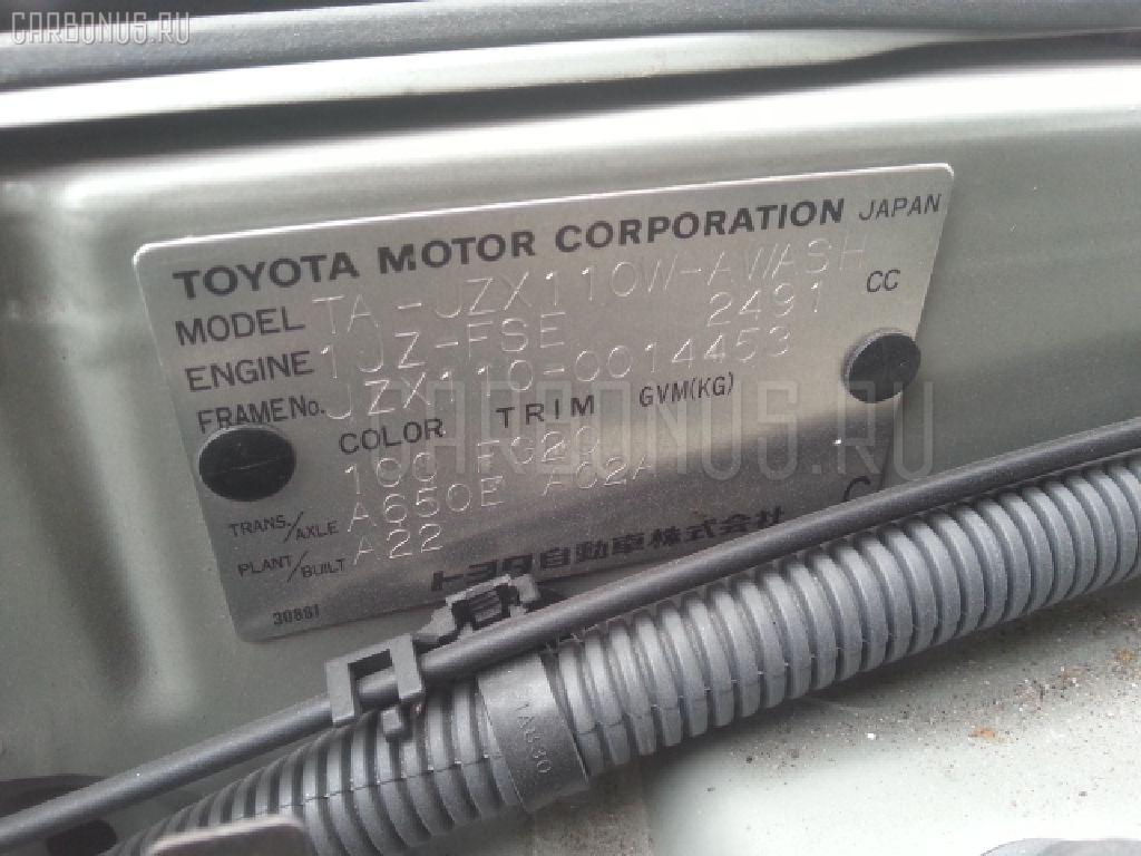 Мотор привода дворников TOYOTA MARK II BLIT JZX110W Фото 3