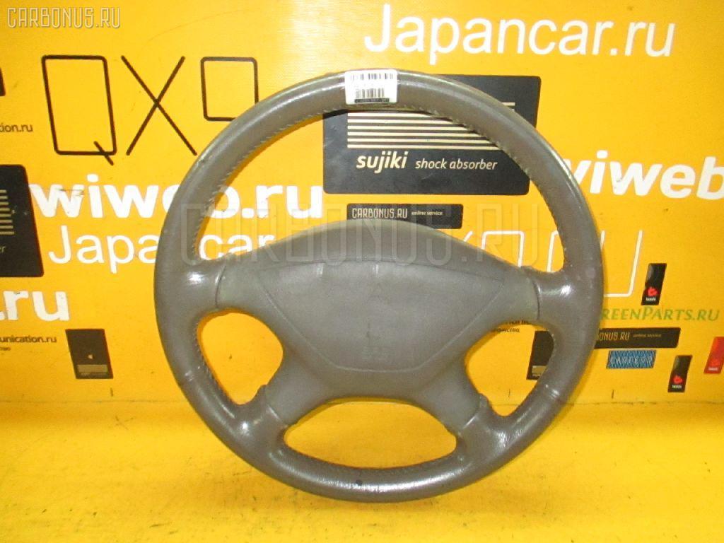 Руль MITSUBISHI CHARIOT GRANDIS N84W. Фото 6