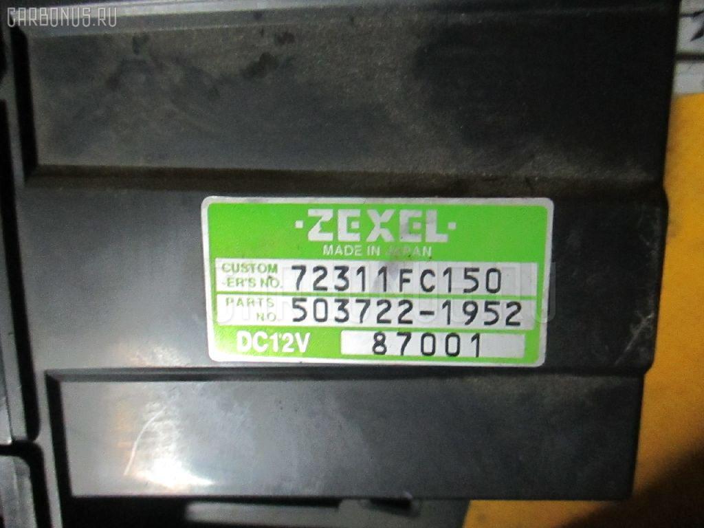 Блок управления климатконтроля SUBARU FORESTER SF9 EJ25. Фото 4