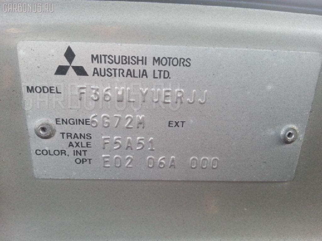 Главный тормозной цилиндр MITSUBISHI DIAMANTE WAGON F36W 6G72 Фото 4
