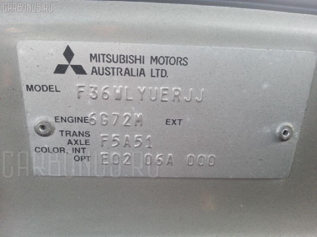 Радиатор кондиционера MITSUBISHI DIAMANTE WAGON F36W 6G72 Фото 3