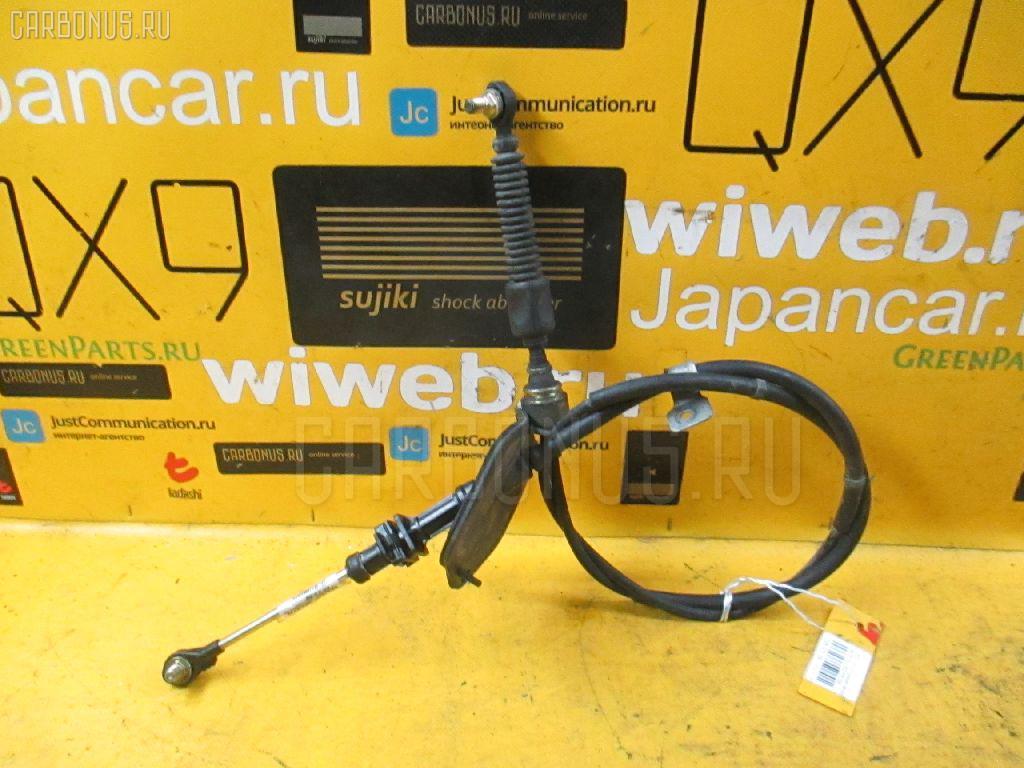Тросик на коробку передач TOYOTA VITZ SCP10 1SZ-FE. Фото 8
