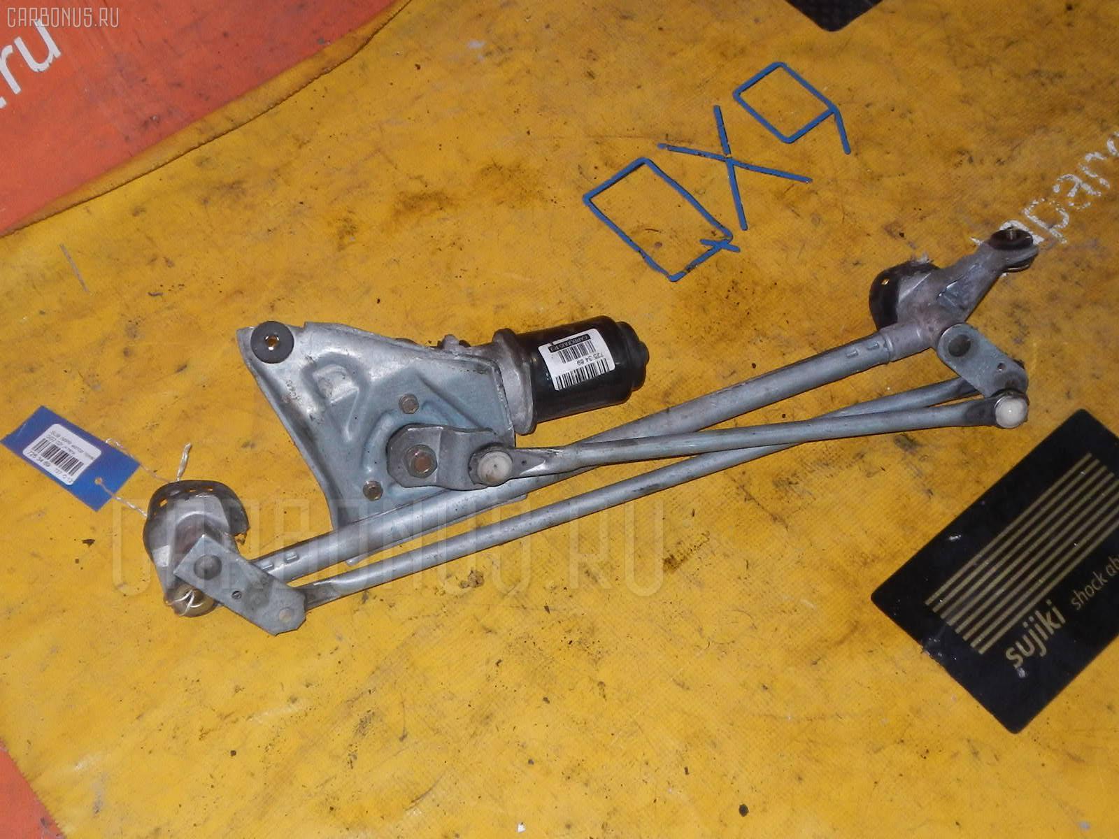 Мотор привода дворников SUBARU IMPREZA WAGON GG2. Фото 6