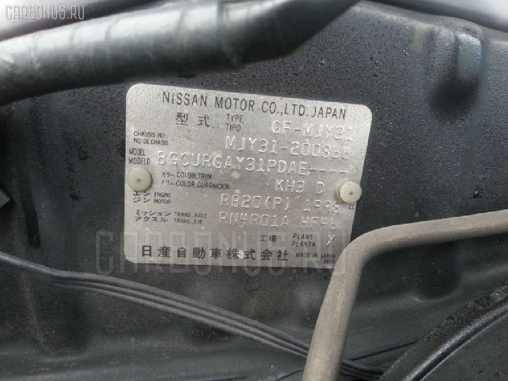 Двигатель NISSAN CEDRIC MJY31 RB20 Фото 10