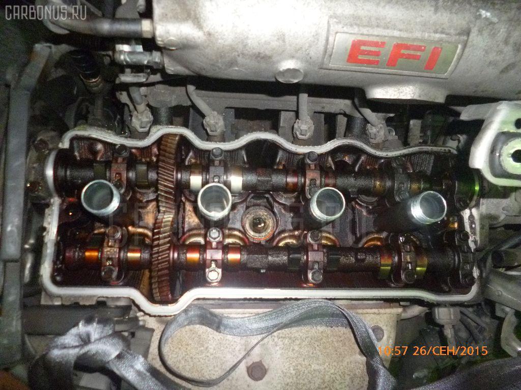 Двигатель TOYOTA VISTA SV30 4S-FE. Фото 11