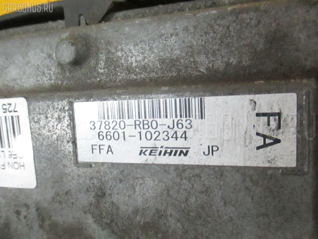 Блок EFI HONDA FIT GE6 L13A Фото 1