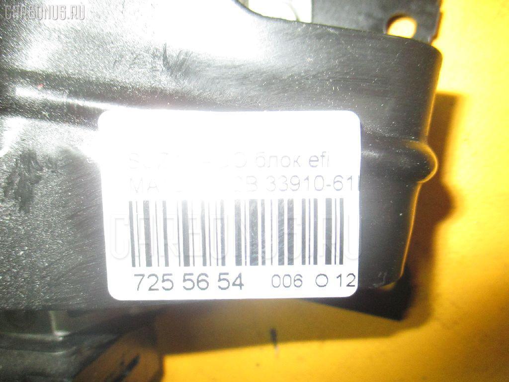 Блок EFI SUZUKI WAGON R SOLIO MA15S K12B Фото 3