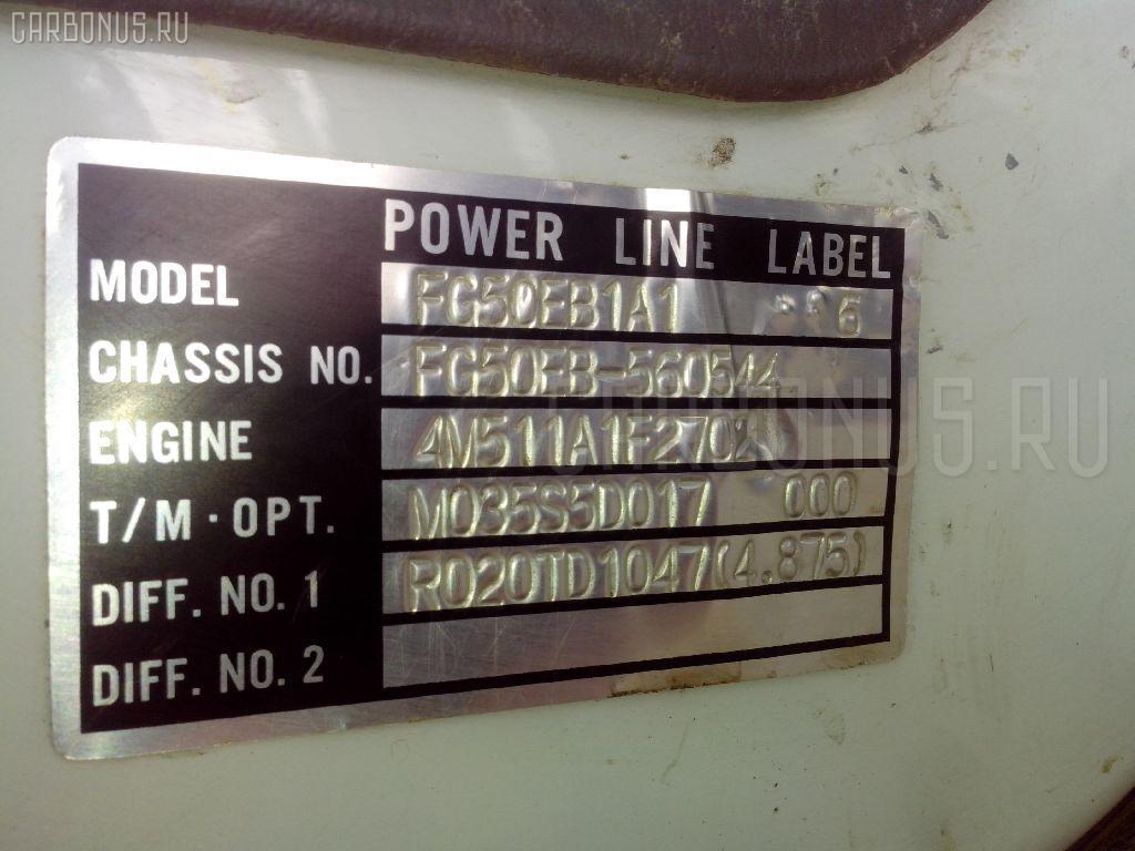 Защита двигателя MITSUBISHI CANTER FG50EB 4M51 Фото 5
