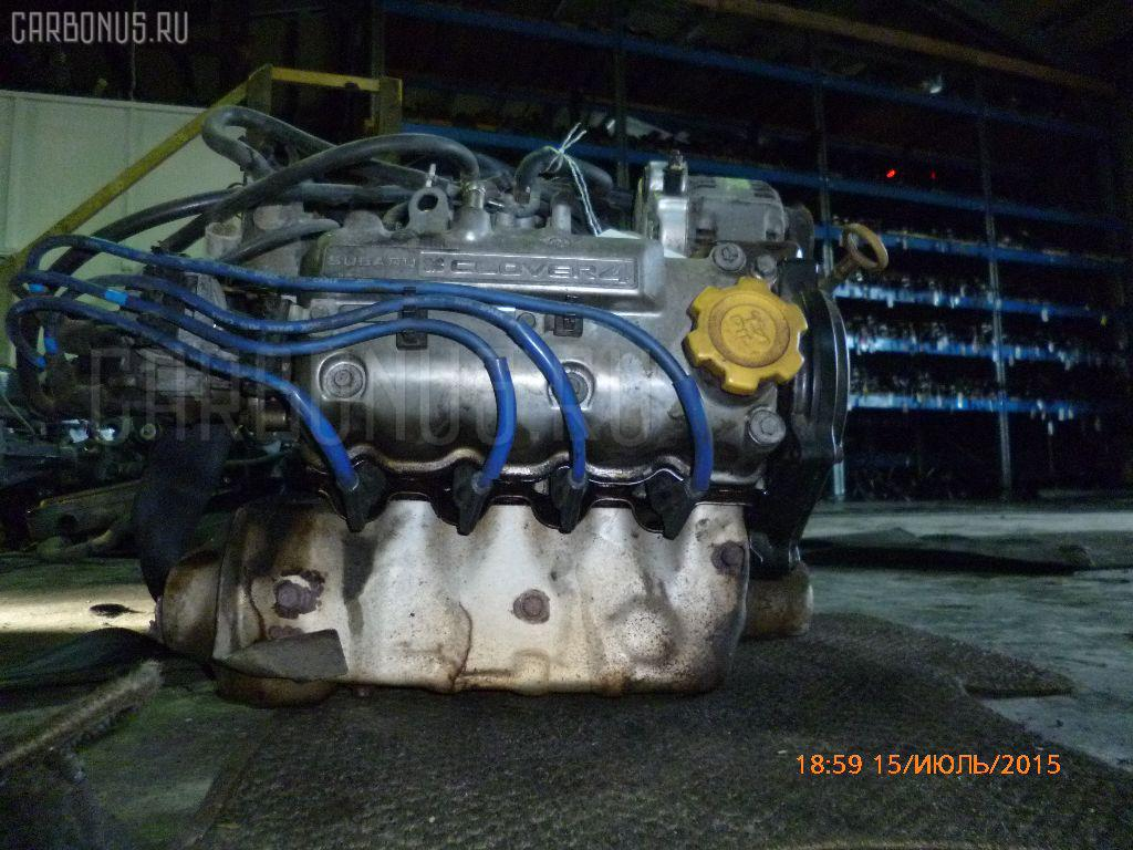 Двигатель SUBARU SAMBAR KS4 EN07C Фото 6