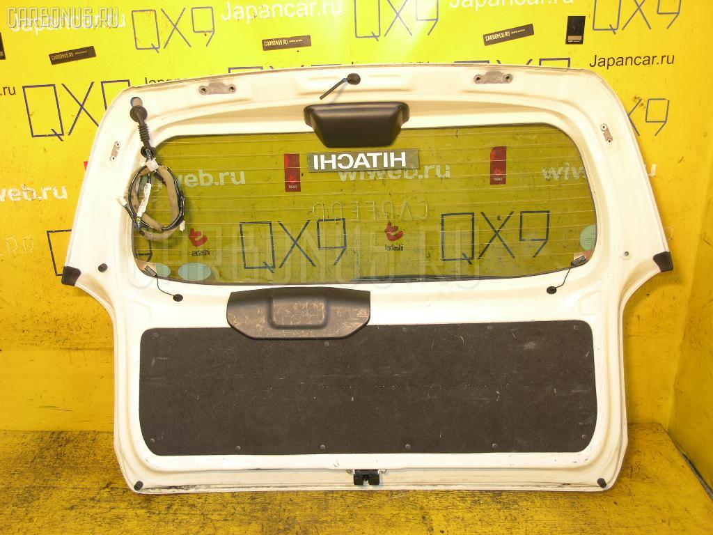 Дверь задняя TOYOTA PROBOX NCP55V. Фото 9