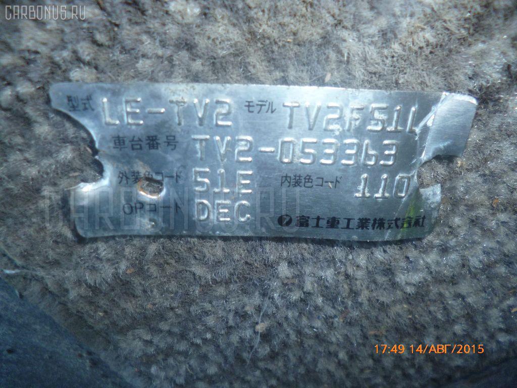 Двигатель SUBARU SAMBAR TV2 EN07. Фото 11
