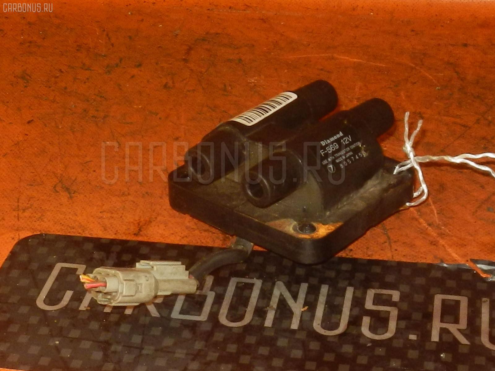 Катушка зажигания SUBARU FORESTER SF5 EJ20T. Фото 5