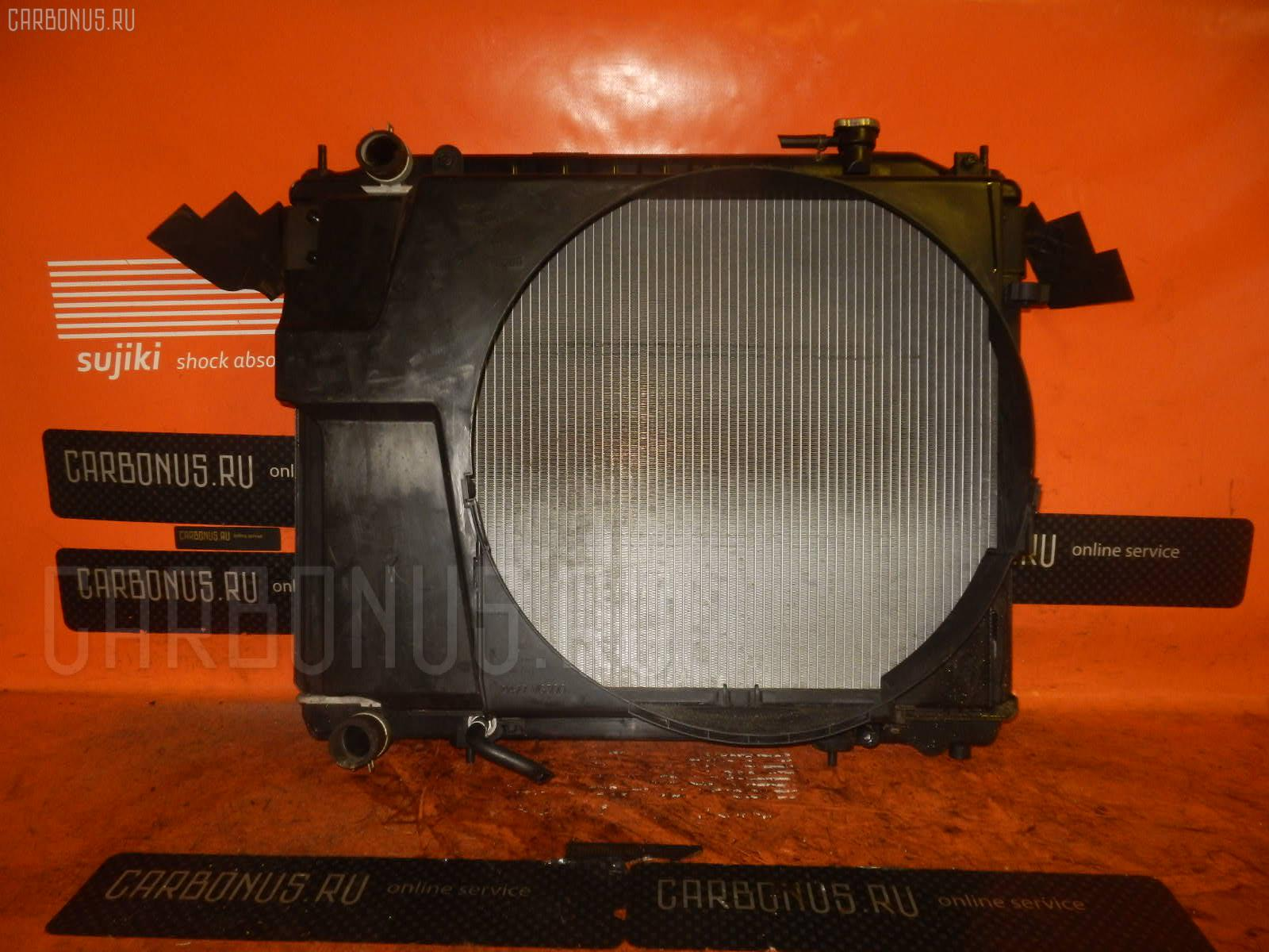 Радиатор ДВС NISSAN ELGRAND APWE50 VQ35DE. Фото 2