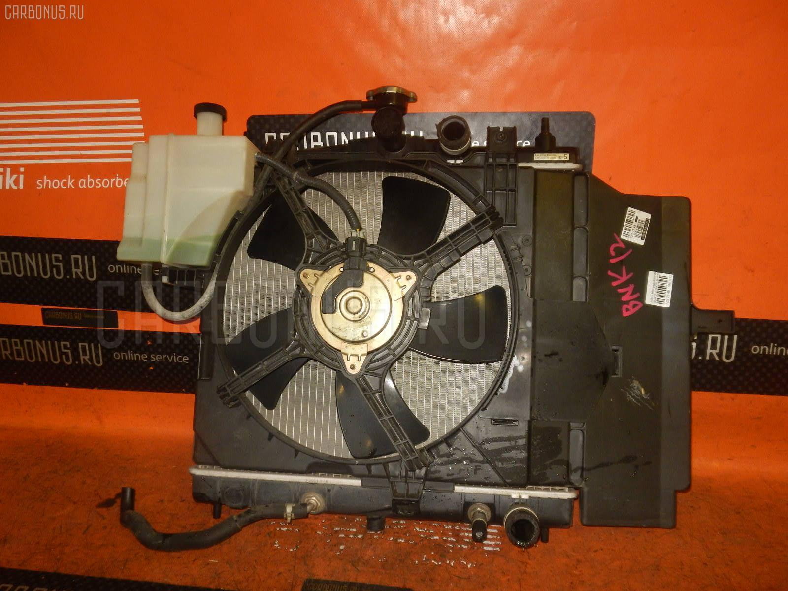 Радиатор ДВС NISSAN MARCH BNK12 CR14DE. Фото 11