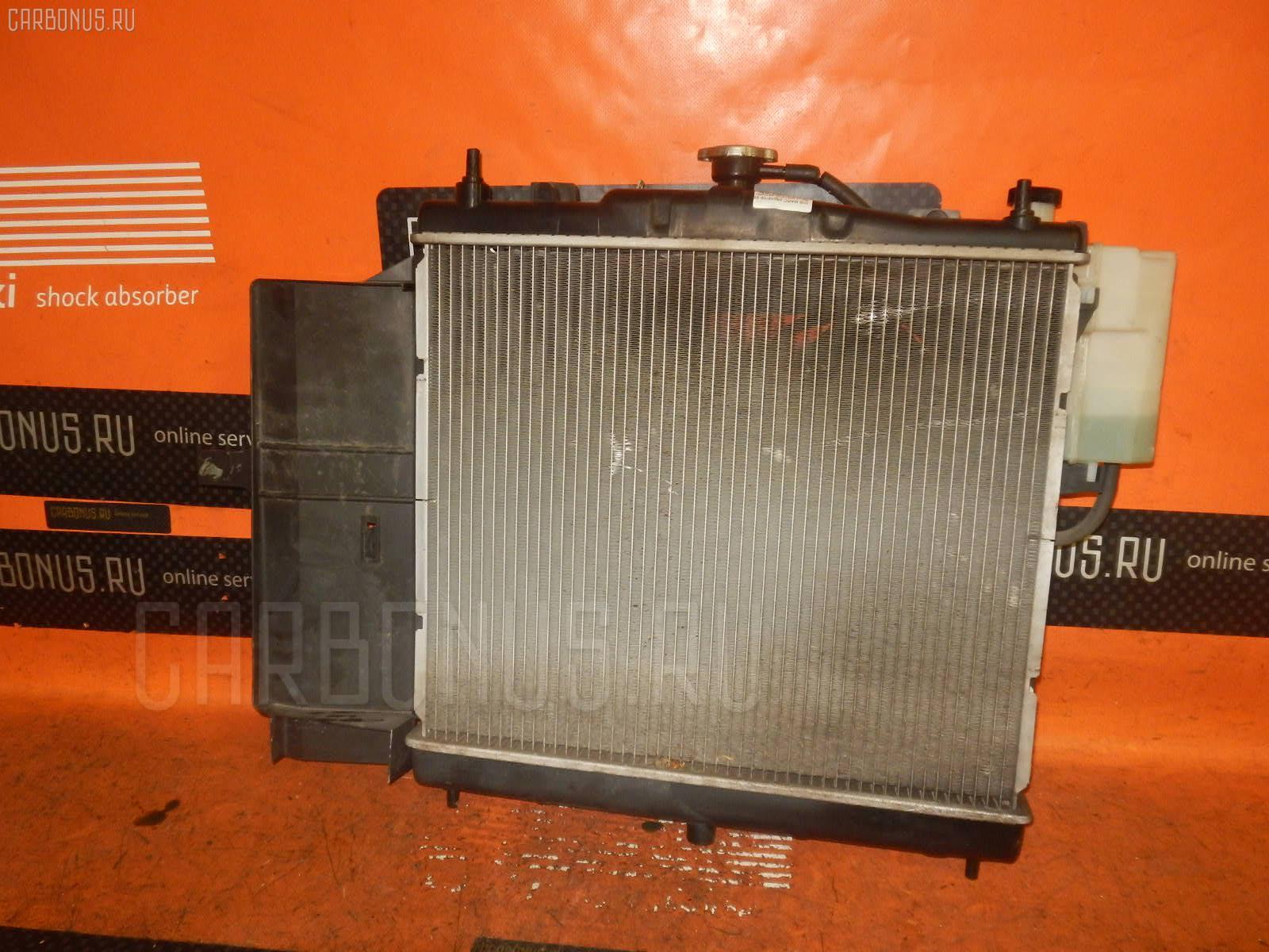 Радиатор ДВС NISSAN MARCH BK12 CR14DE. Фото 10