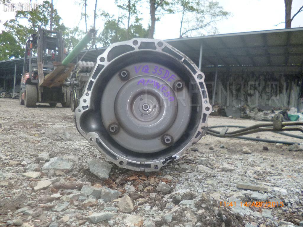 КПП автоматическая NISSAN ELGRAND APWE50 VQ35DE. Фото 4