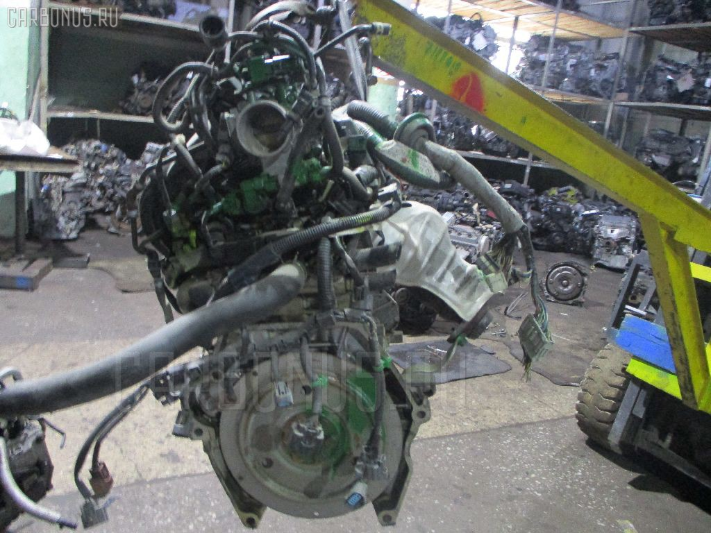 Двигатель HONDA FIT GD4 L15A Фото 11