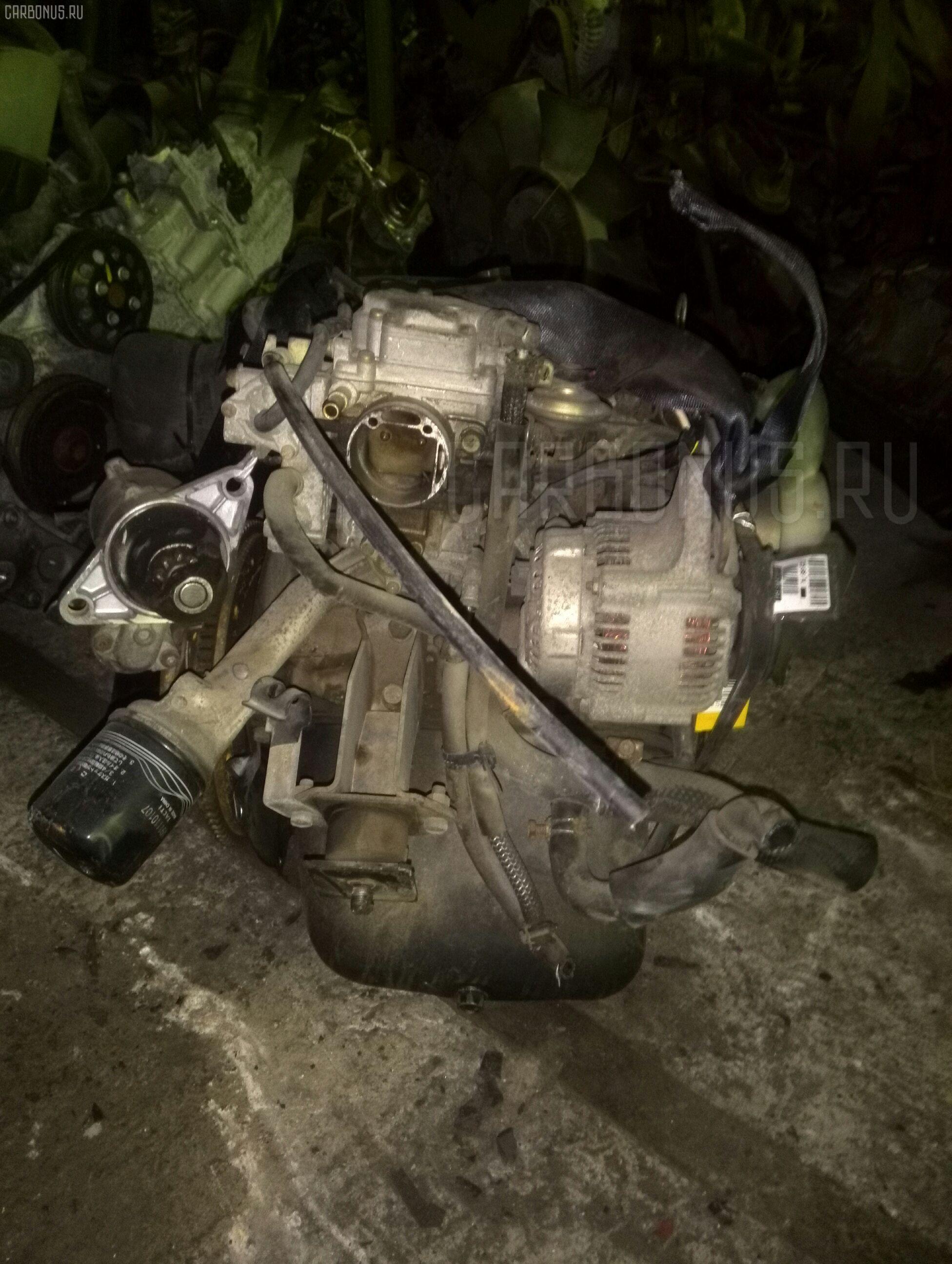 Двигатель MITSUBISHI MINICAB U15V 3G81 Фото 4