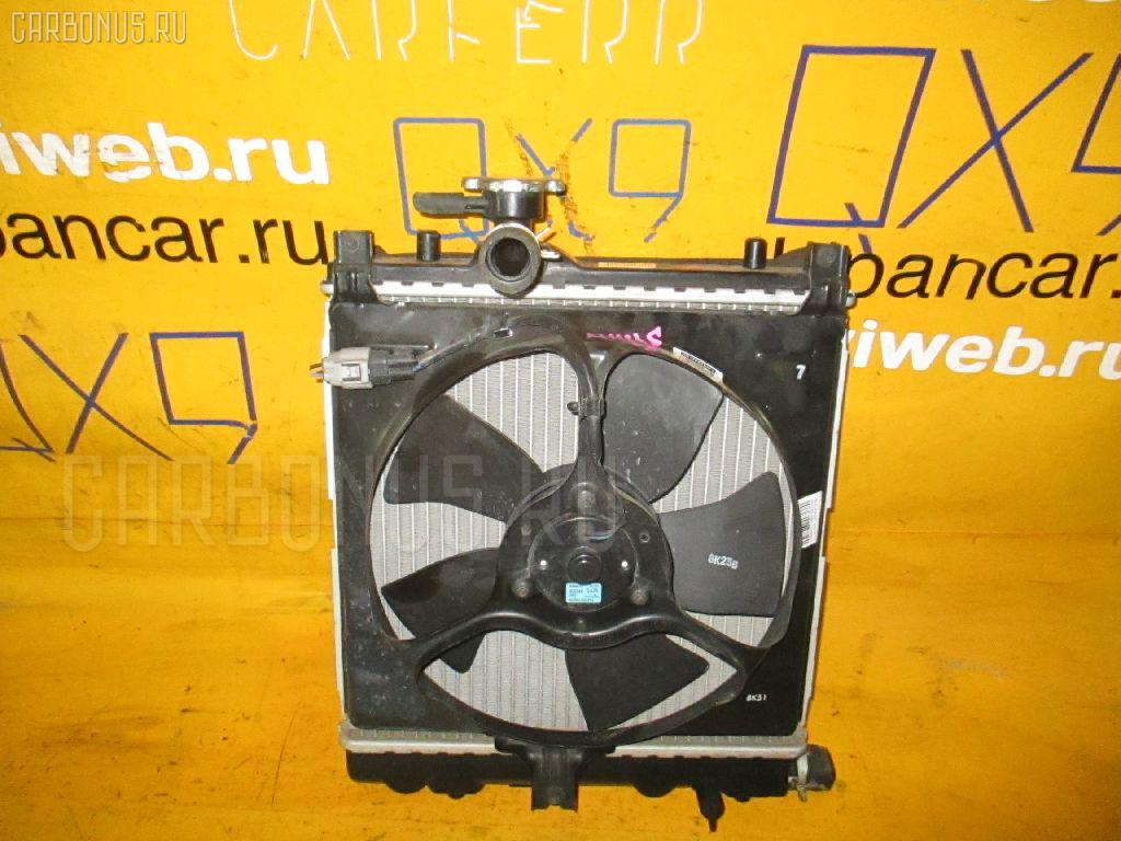 Радиатор ДВС SUZUKI WAGON R MH23S K6A. Фото 7