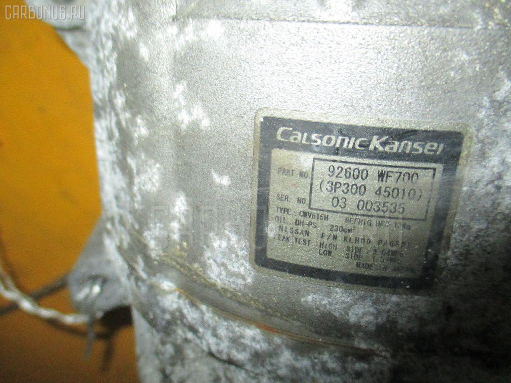 Компрессор кондиционера NISSAN LIBERTY RM12 QR20DE. Фото 8