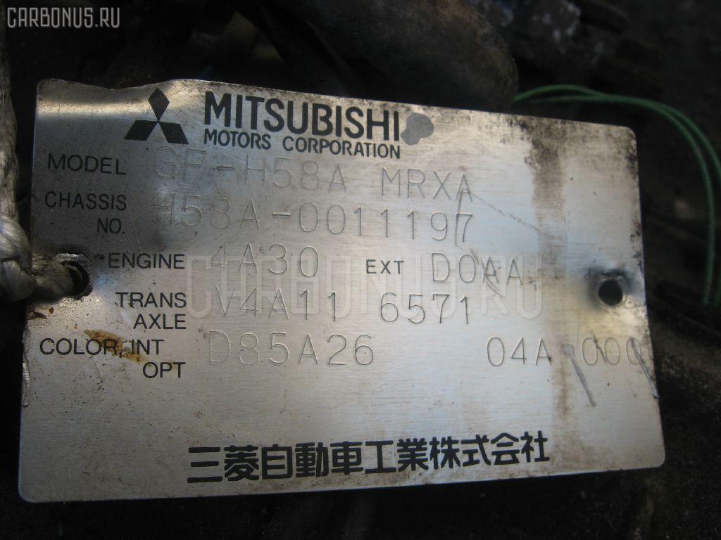 КПП автоматическая MITSUBISHI PAJERO MINI H58A 4A30. Фото 11