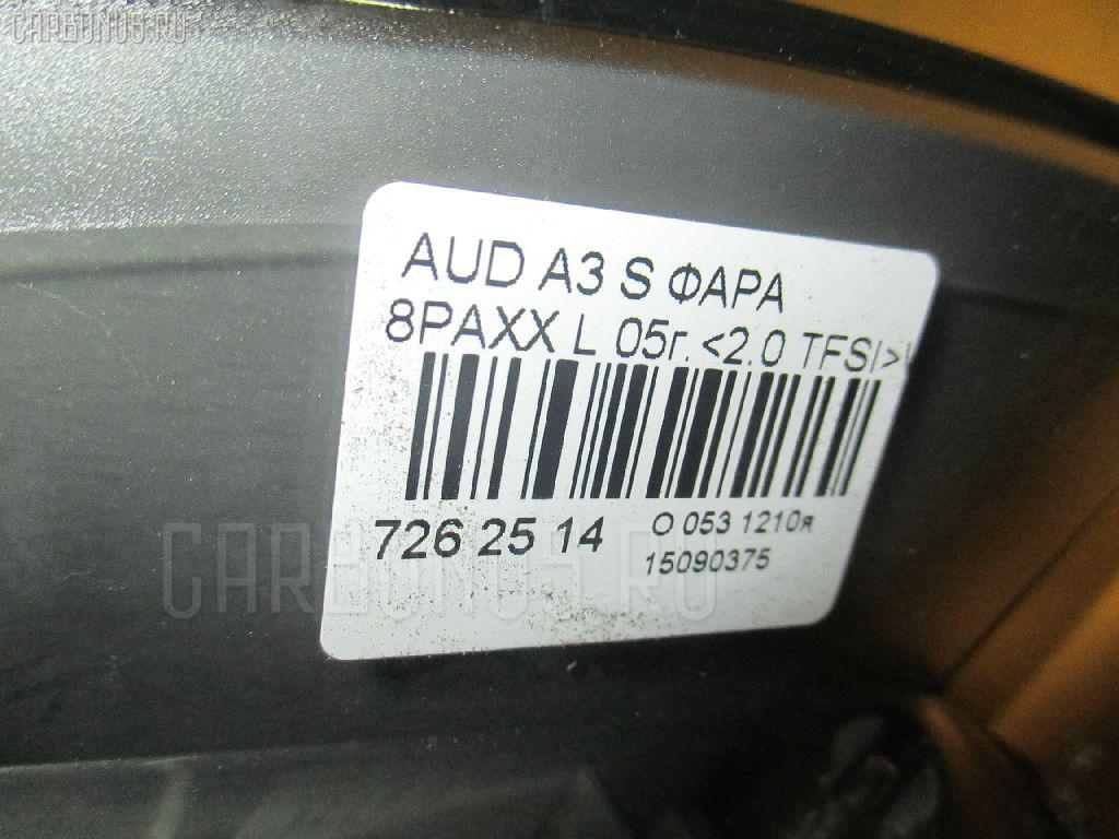 Фара AUDI A3 SPORTBACK 8PAXX Фото 4