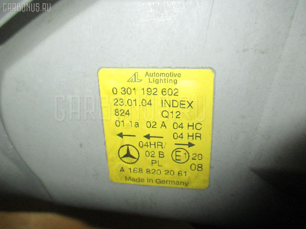 Фара MERCEDES-BENZ A-CLASS W168.033 Фото 1