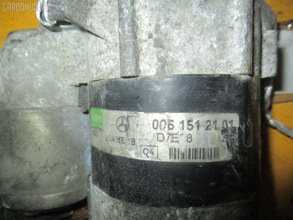 Стартер MERCEDES-BENZ A-CLASS W168.133 166.960. Фото 6