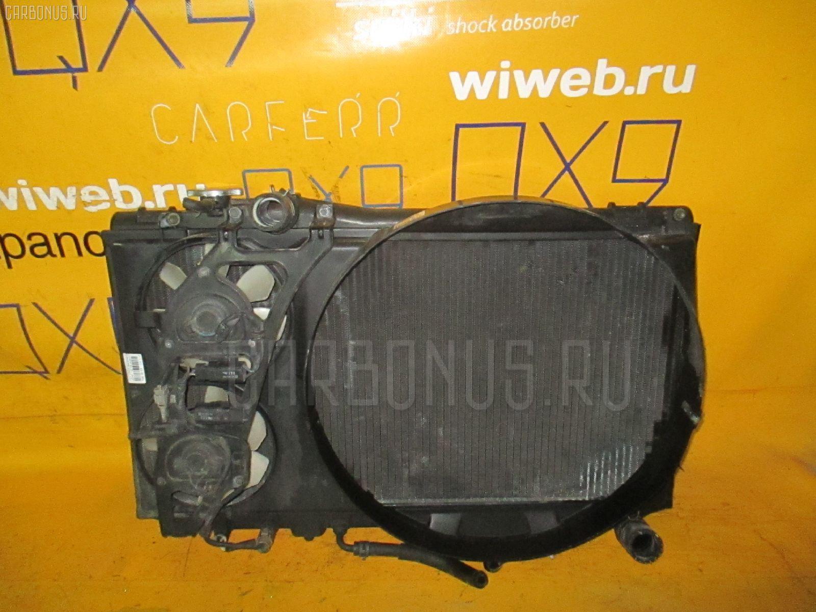 Радиатор ДВС TOYOTA MARK II JZX81 1JZ-GE. Фото 10