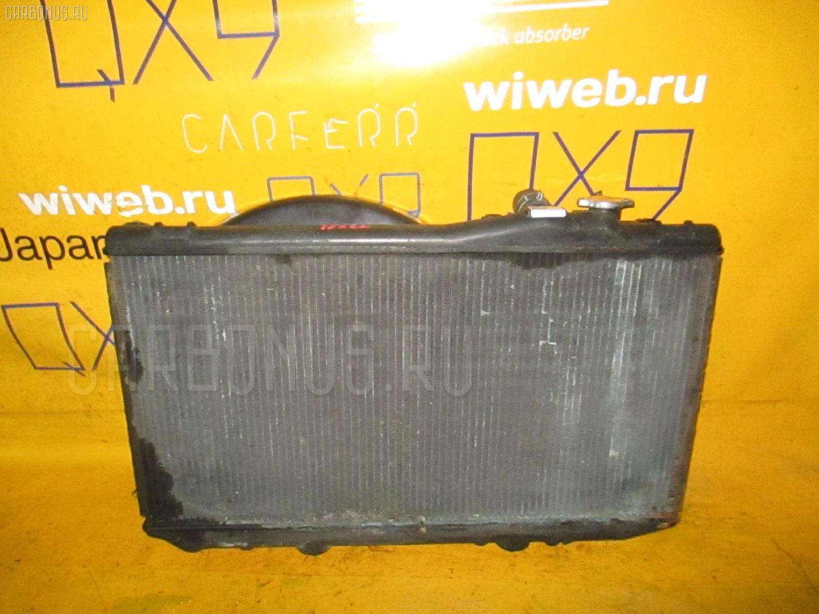 Радиатор ДВС TOYOTA MARK II JZX81 1JZ-GE. Фото 11
