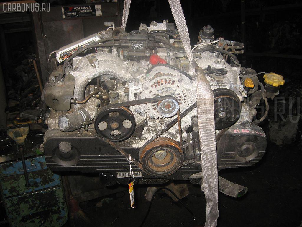 Двигатель SUBARU FORESTER SG5 EJ202. Фото 5