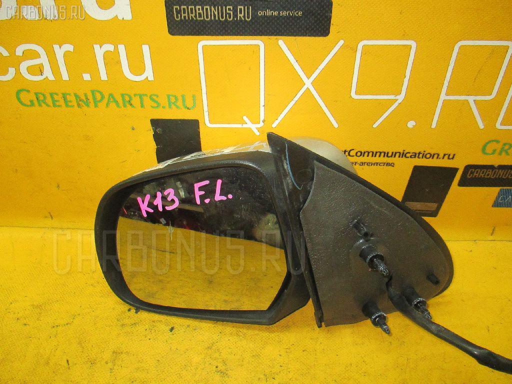 Зеркало двери боковой NISSAN MARCH K13. Фото 5