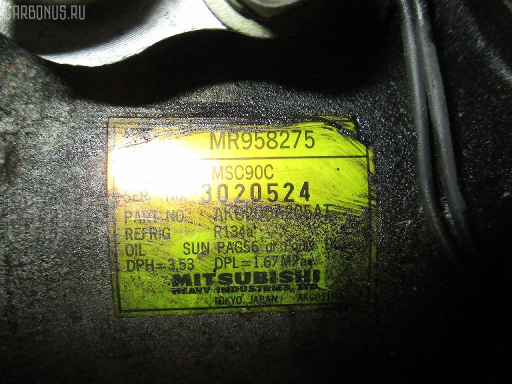 Компрессор кондиционера MITSUBISHI MIRAGE DINGO CQ2A 4G15. Фото 11