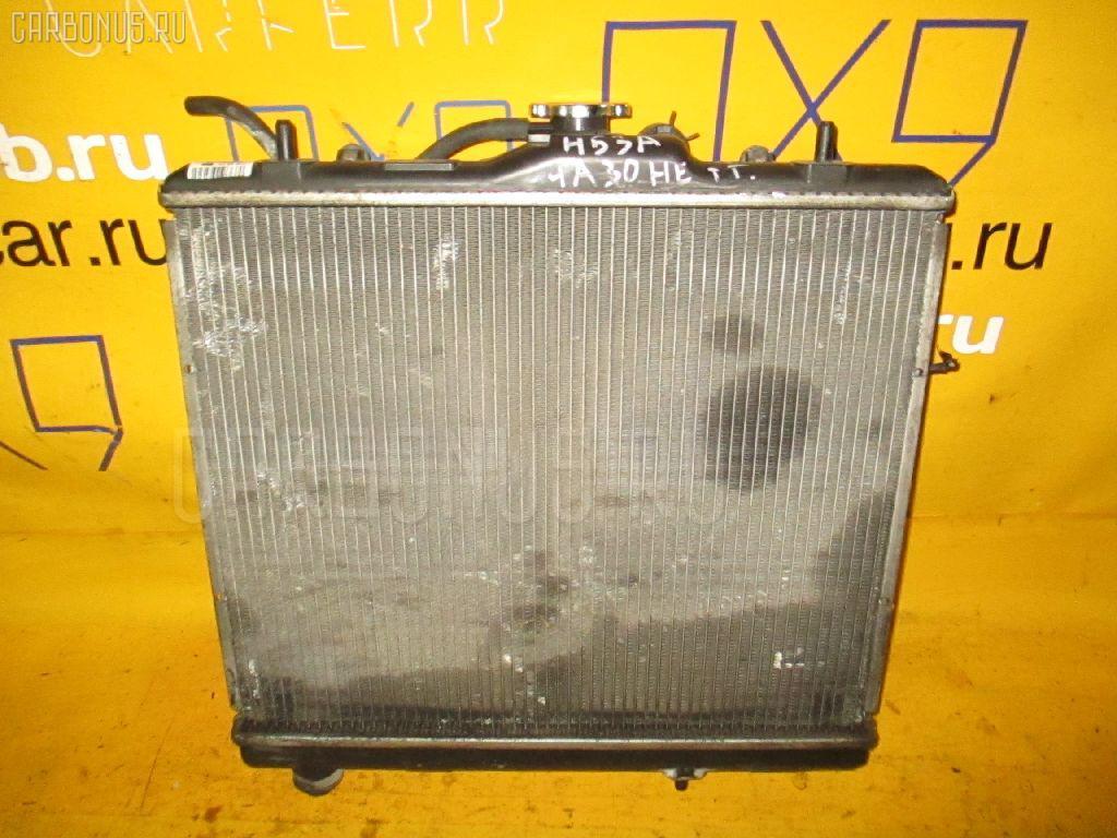 Радиатор ДВС MITSUBISHI PAJERO MINI H53A 4A30. Фото 10