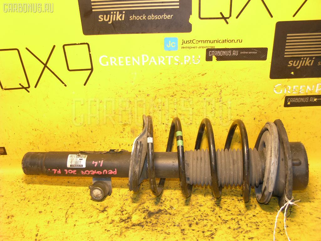 Стойка амортизатора Peugeot 206 2AKFW KFW-TU3JP Фото 1